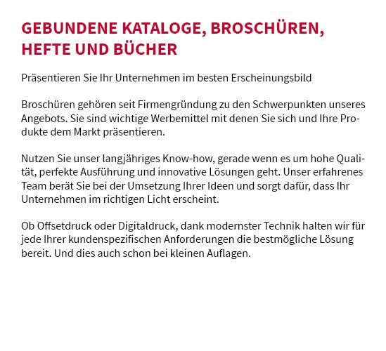 Broschüre drucken für  Fichtenau, Ellenberg, Kreßberg, Wört, Jagstzell, Stödtlen, Crailsheim oder Dinkelsbühl, Stimpfach, Schopfloch