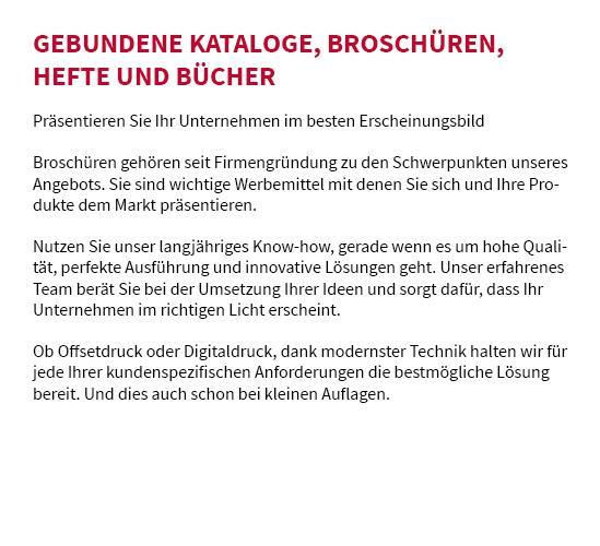 Broschüre drucken aus  Schwaikheim, Burgstetten, Weinstadt, Kirchberg (Murr), Remseck (Neckar), Waiblingen, Affalterbach oder Winnenden, Leutenbach, Korb