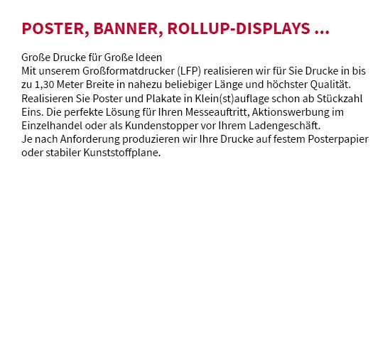 Poster drucken in 63820 Elsenfeld